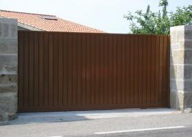 Portón de corredera