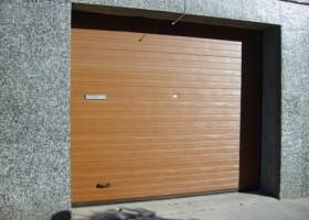 Portón seccional